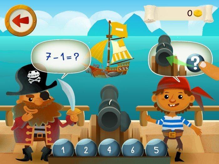 Capitaine Maths gameplay