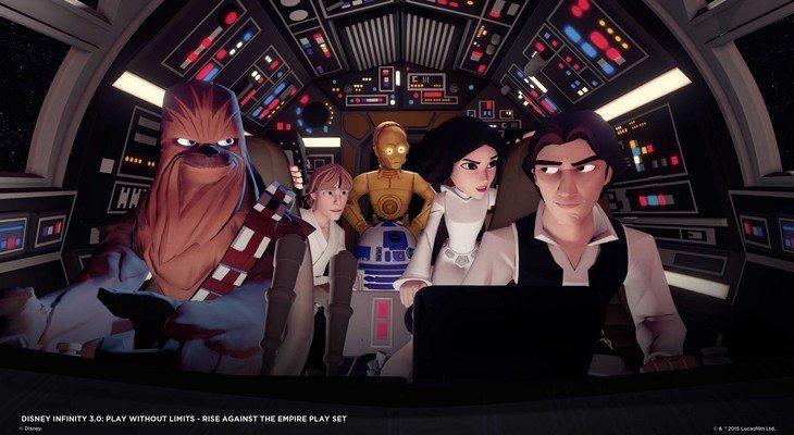 Star Wars fera bien partie du prochain Disney Infinity 3.0