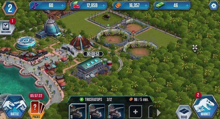 Jurassic world le jeu pour cr er ton propre parc sur - Jurassic park gratuit ...