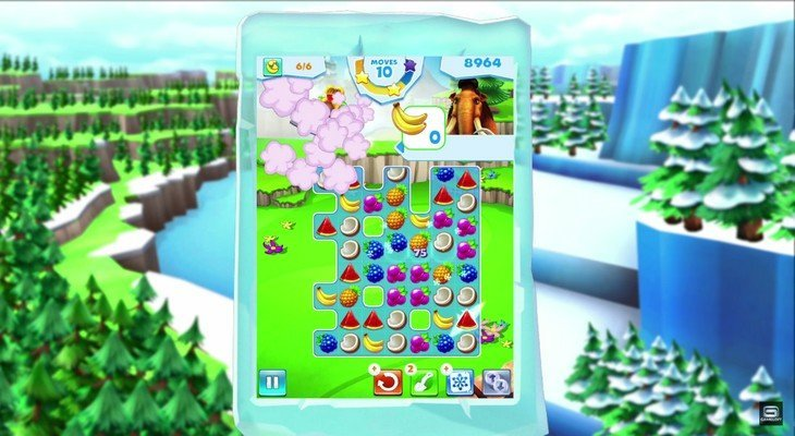 L'Age de Glace Avalanche : quand Candy Crush rencontre Sid