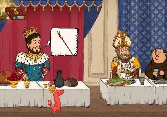 Le Roi et la Salamandre - screenshoot