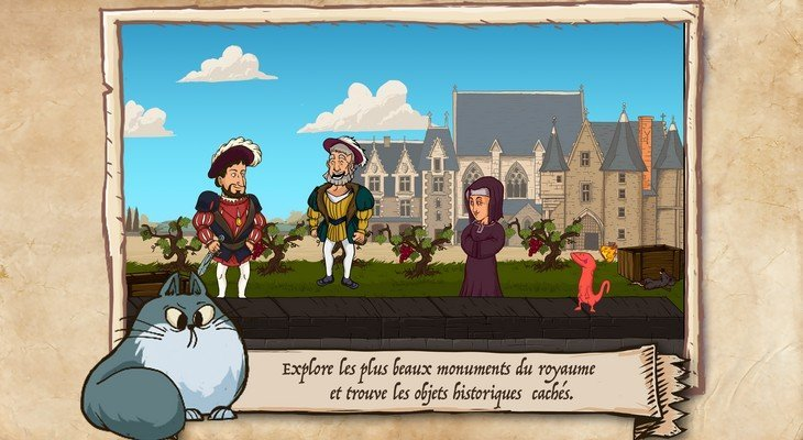 Le Roi & la Salamandre : François 1er dans un jeu d'objets cachés !