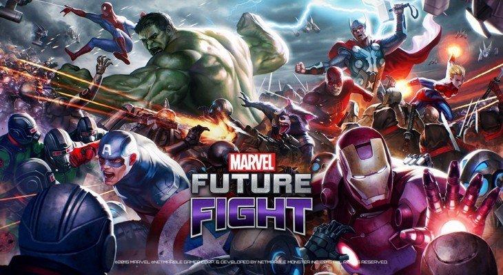 Sauve le monde dans Marvel Future Fight sur iOS et Android