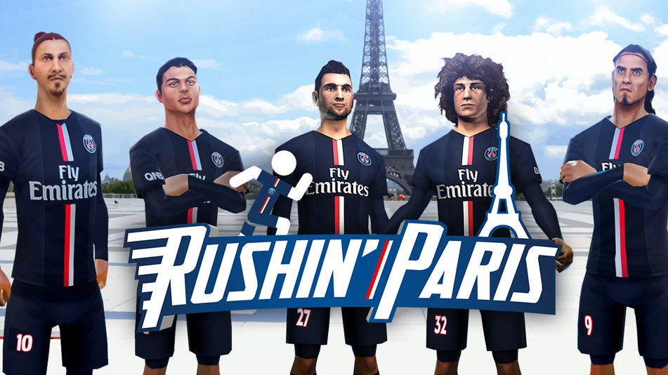 Rushin' Paris : le jeu mobile du PSG à la Subway Surfers