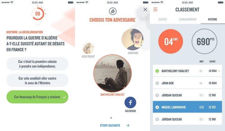 Study Quizz captures écran