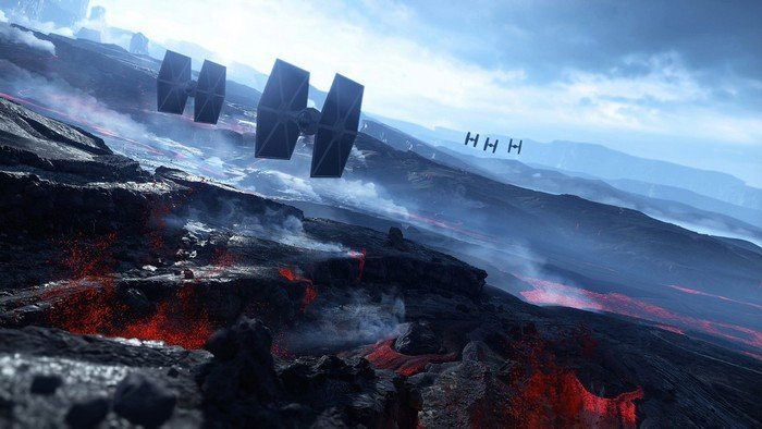 The planet Sullust Star Wars Battlefront