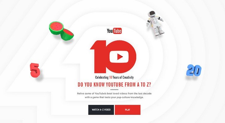 Happy Birthday Youtube ! Quel âge avais-tu quand YouTube a été lancée ?