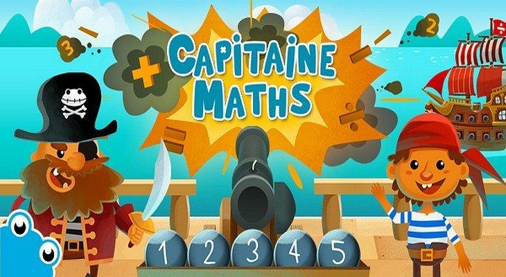 Le calcul mental et les maths c'est rigolo avec Capitaine Maths (iOS)