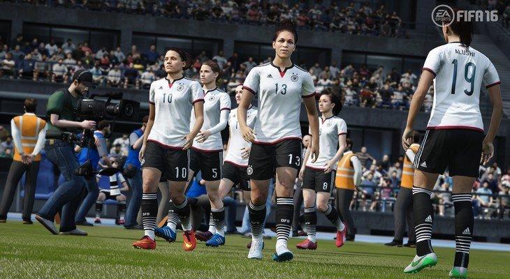 FIFA 16 : les équipes nationales féminines dans le jeu !