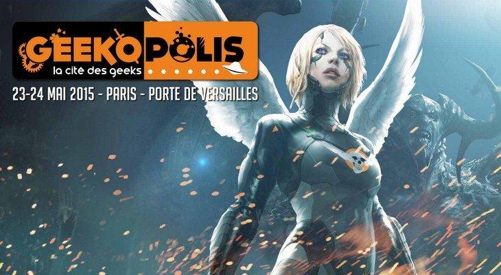 A ne pas rater : Geekopolis 2015, le festival geek à Paris les 23 et 24 mai
