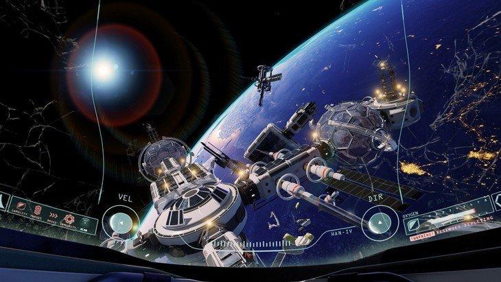 Dans le jeu Adr1ft, astronaute n'est pas un métier facile. (trailer)