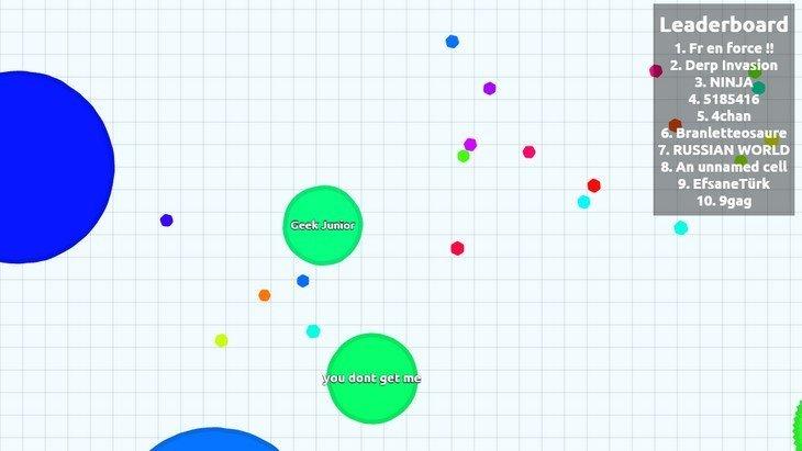 Agar.io : le jeu qui cartonne chez les ados (PC/Mobile)