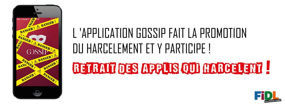 Application Gossip FIDL