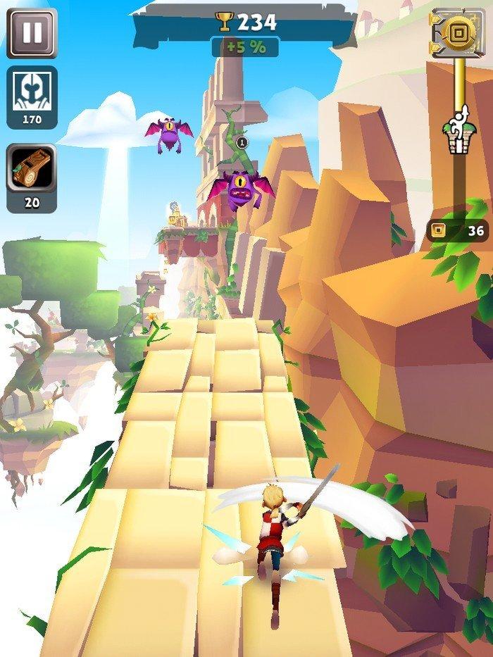Blades of Brim gameplay