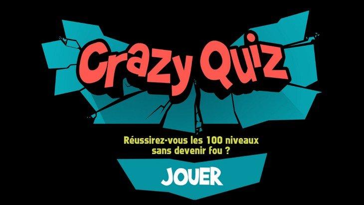 Crazy Quiz : le quiz qui rend fou sur ton smartphone (Android et iOS)