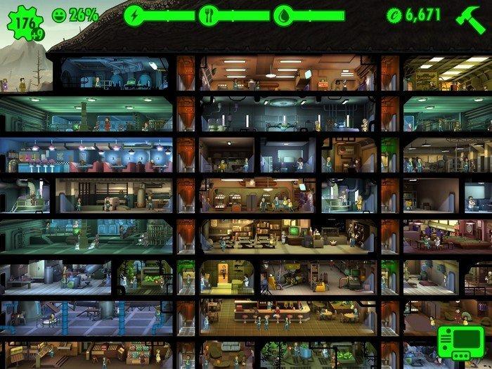 Fallout Shelter abris
