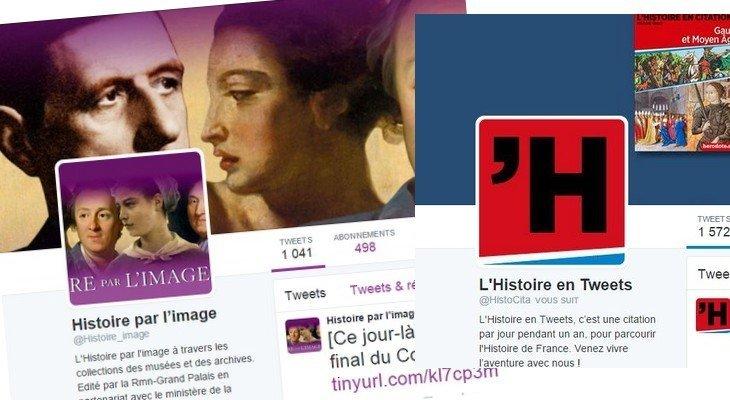 Quels comptes Twitter suivre pour les passionnés d'Histoire ?