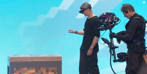 Hololens Minecraft Demo E3