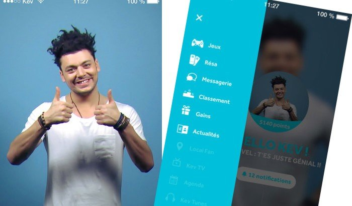Kev Adams dévoile son application mobile ! (Android et iOS)