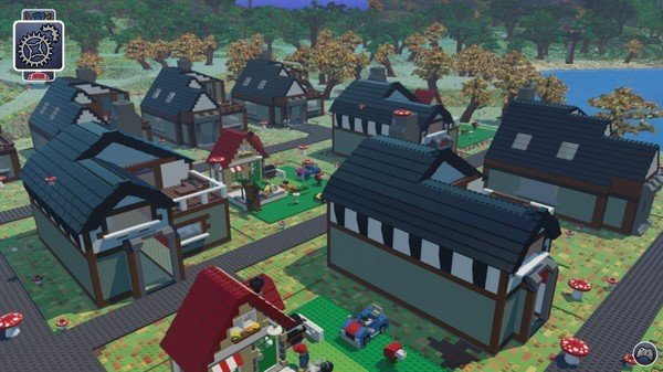 Lego Worlds sur PC village