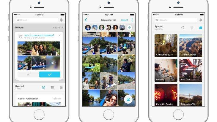 Moments, l'appli de Facebook pour partager ses photos pas disponible en France