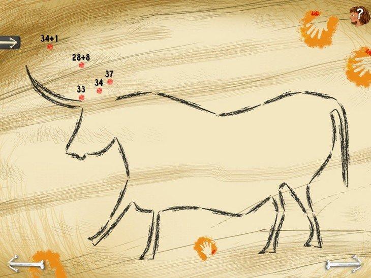 Mystère préhistorique dessin