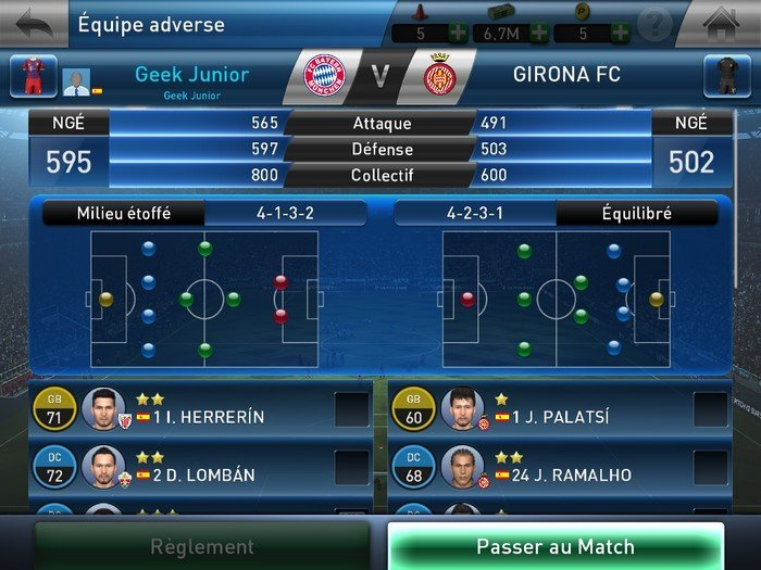 PES Club Manager gameplay