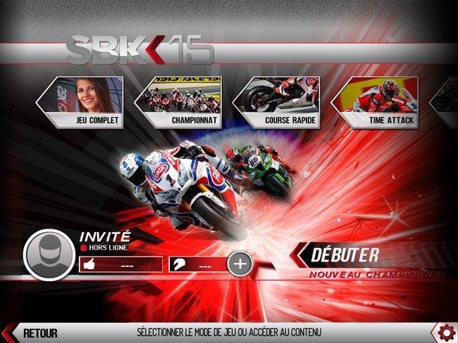 SBK15 - modes