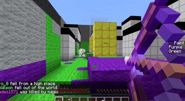 Jouer à Splatoon dans Minecraft ? Un mod est déjà disponible