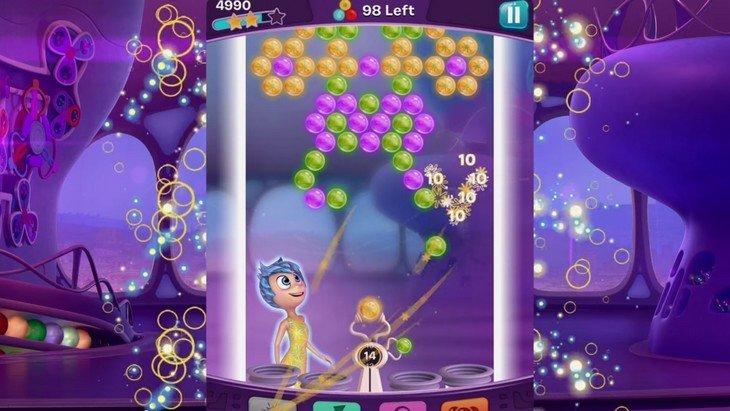 Vice-Versa Bulles Souvenirs : après le film Pixar, voici le jeu mobile