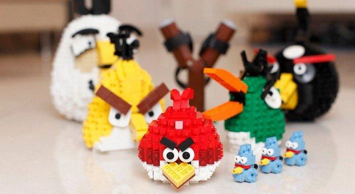 Des Lego Angry Birds prévus pour 2016