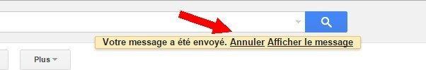 annuler Gmail