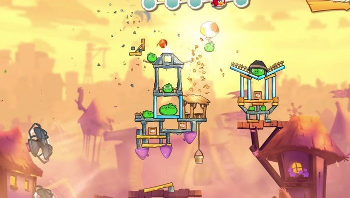 Angry Birds 2 gameplay