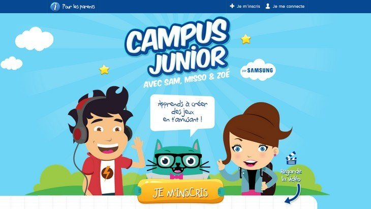 Campus Junior : apprends à coder avec Scratch