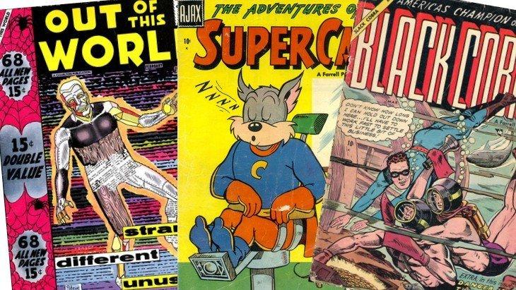 Fan de comics ? Télécharge 15 000 comics gratuitement !
