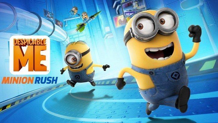 Moi, Moche et Méchant – Minion Rush : le jeu en attendant le film