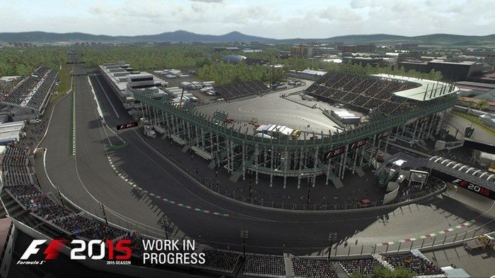 F1 2015 circuit