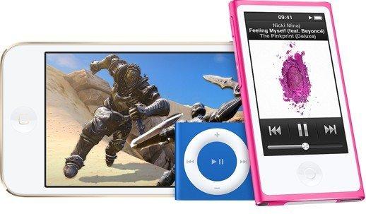 Gamme iPod  Apple