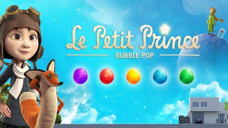 Le Petit Prince – Bubble Pop : un jeu mobile basé sur le film te fait libérer les étoiles