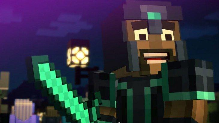 Découvre le trailer du jeu par épisode Minecraft Story Mode