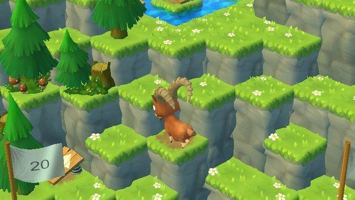 Mountain Goat Mountain : le jeu qui te rendra chèvre sur ton mobile