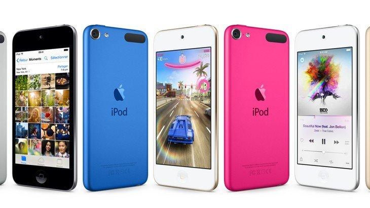 Sortie d'un nouveau iPod Touch plus adapté aux jeux actuels
