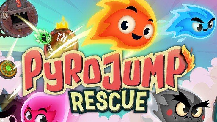 Pyro Jump Rescue : retour de flamme sur Android et iOS