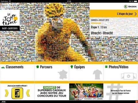 Tour de France 2015 app officielle