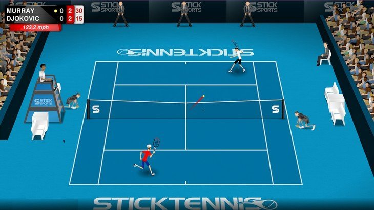 Stick Tennis Tour : le meilleur jeu de Tennis sur Android et l'App Store