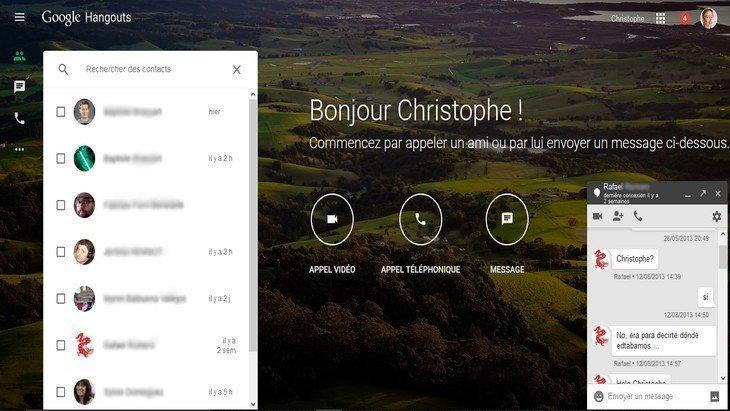 Hangouts : mieux que Messenger ou WhatsApp avec sa nouvelle version web ?