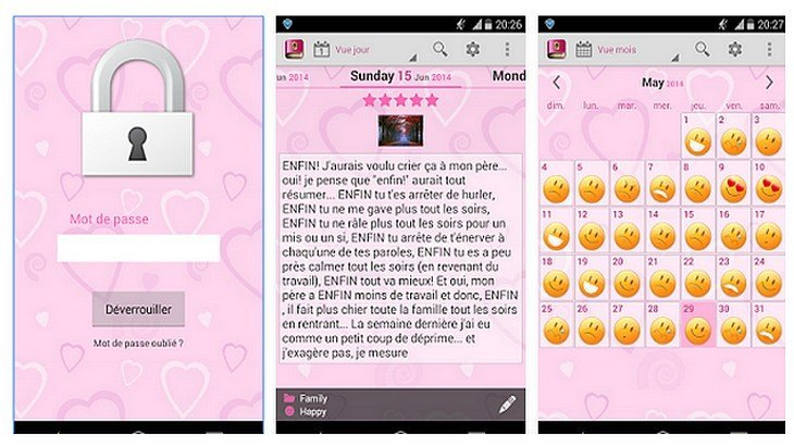 Handy Diary Ton Journal Intime Sur Ton Smartphone Android