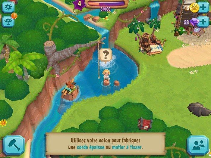 La Baie du Paradis - gameplay