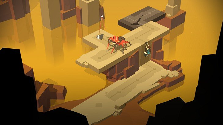 Lara Croft Go : l'aventure continue sur Android, iOS et Windows Phone