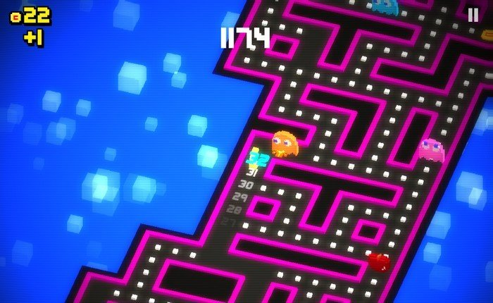 Pac-Man 256 gameplay